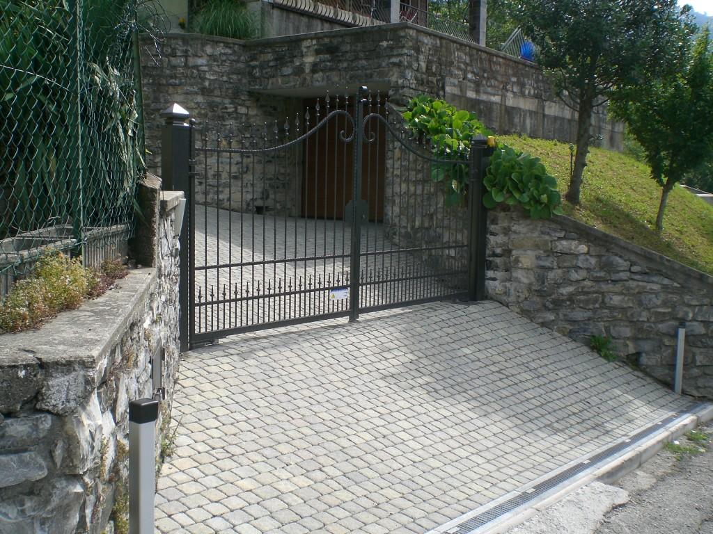 Cancello battente San Fedele Intelvi