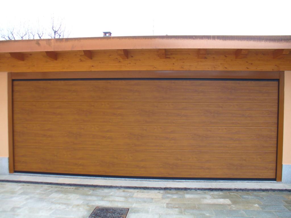 Sezionale finto legno BERGAMO