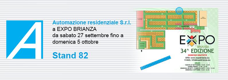 Automazione residenziale S.r.l. a EXPO BRIANZA 2014